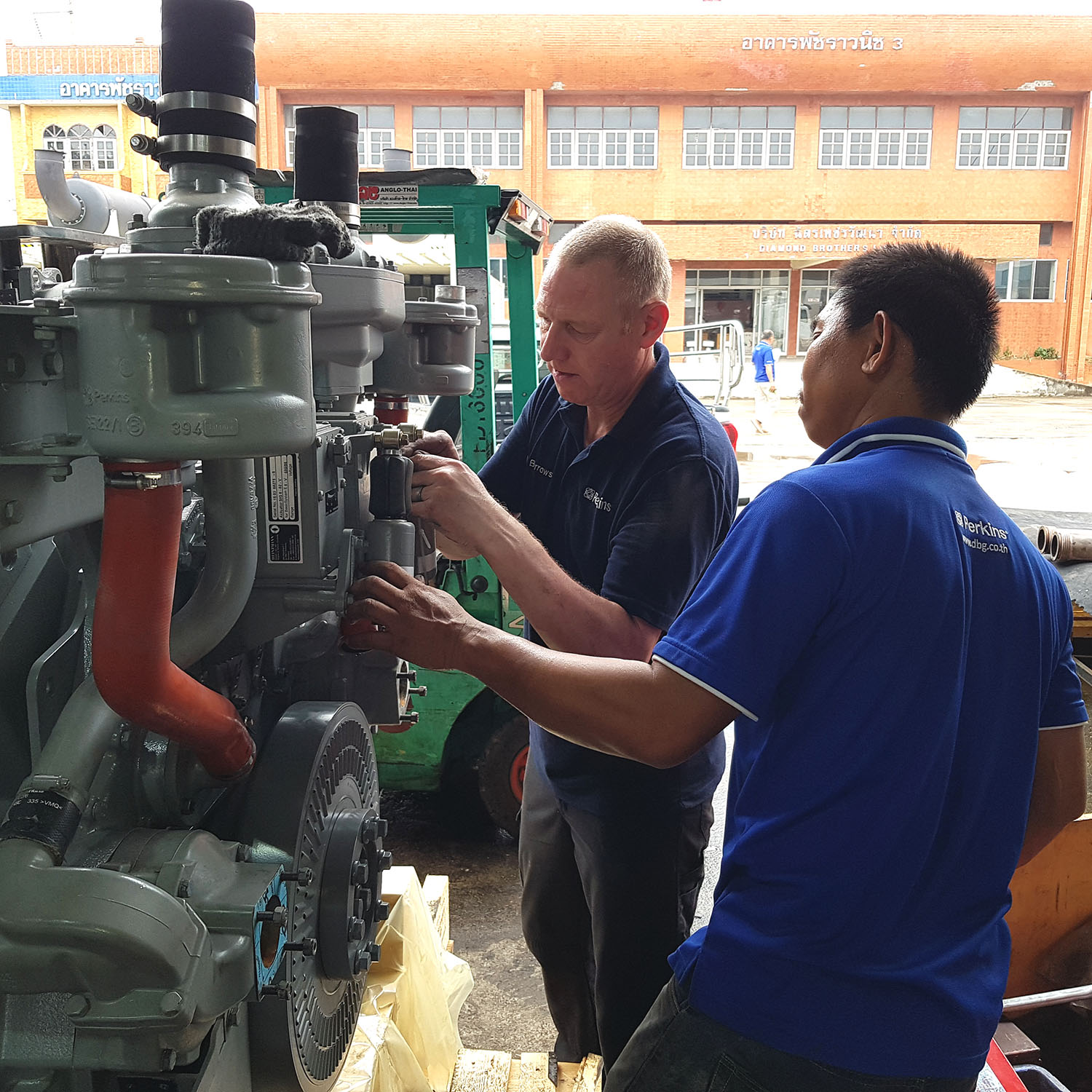 Perkins Generator Training Thailand