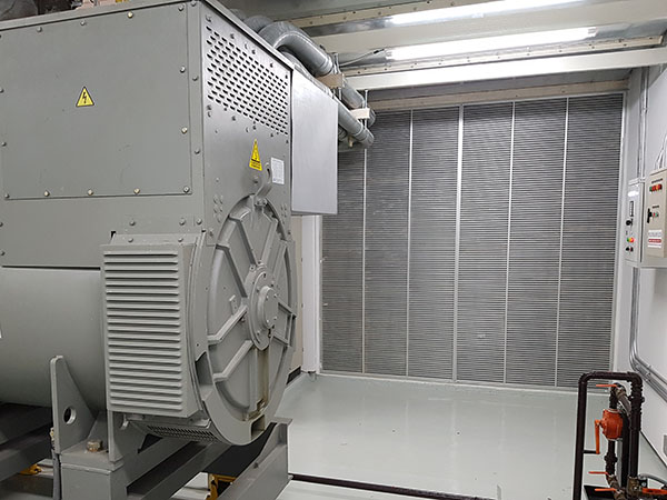 Generator ventilation